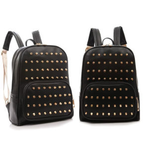 Studded Backpacks Black