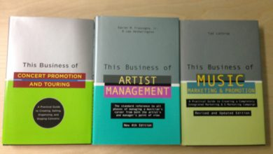 Books for Artist Managers