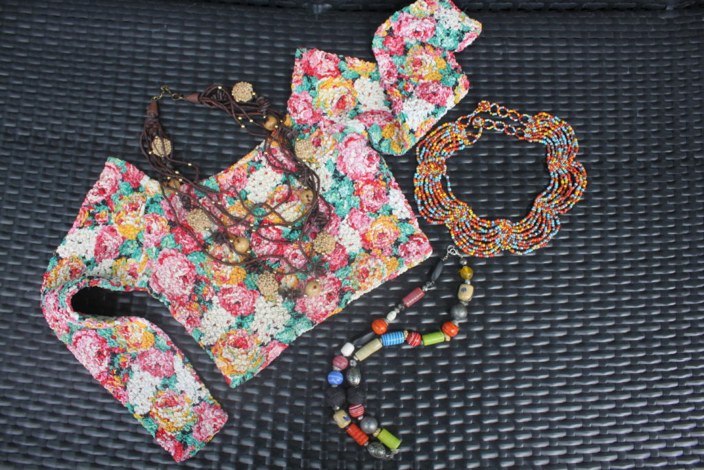 Vintage Flower Crop Top