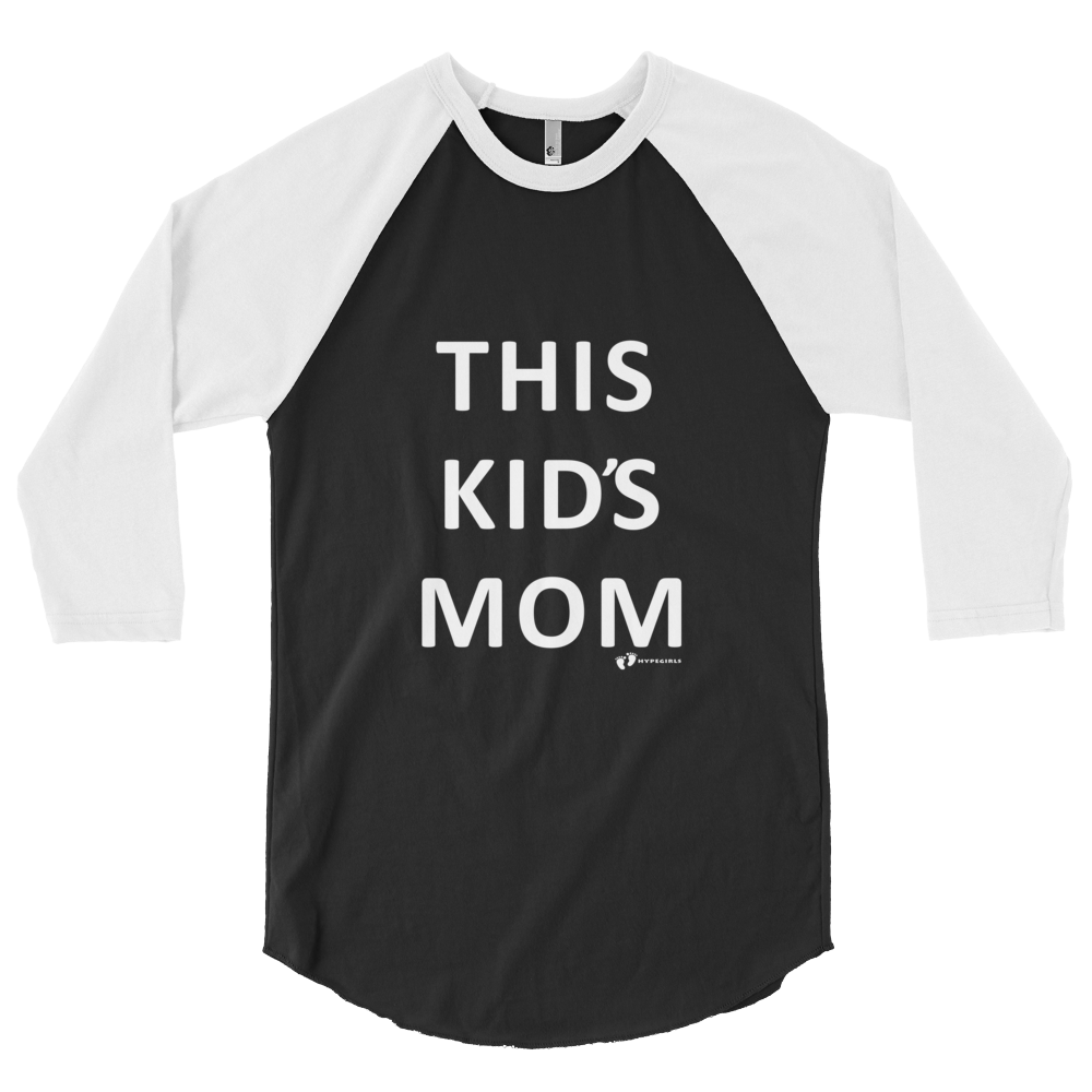 This Kid's Mom Raglan by HypeGirls