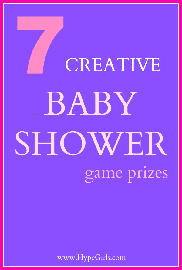creative baby shower game prizes