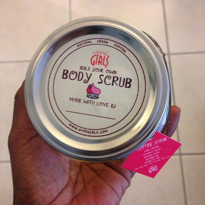 Body Scrub Workshop Artsy Hive
