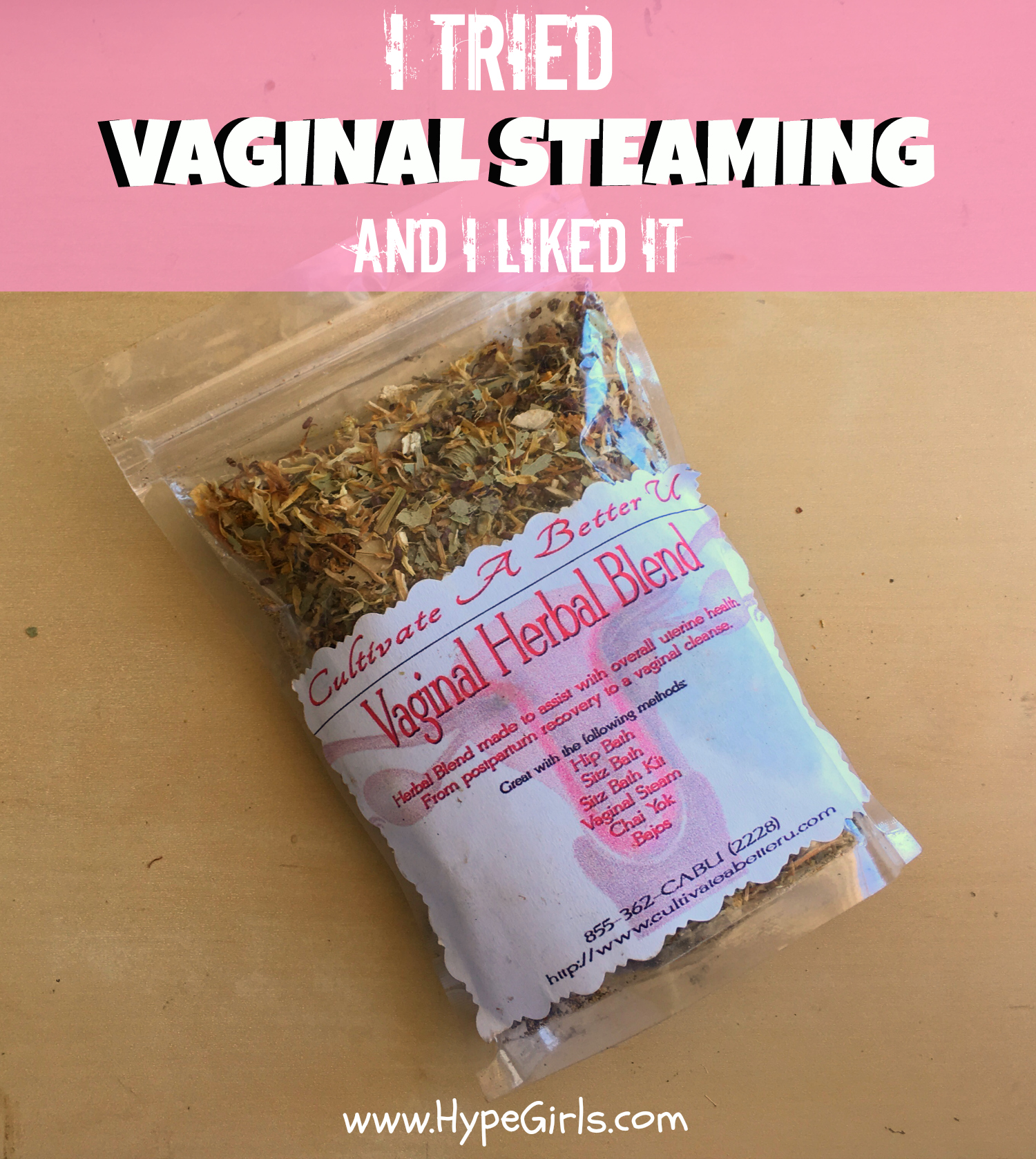 I did vaginal steaming and i liked it natural birth hacks by hypegirls vaginal steaming solutioingenieria Gallery