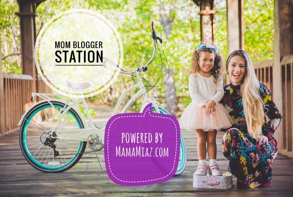 Mom Bloggers Station at Eco Baby Expo