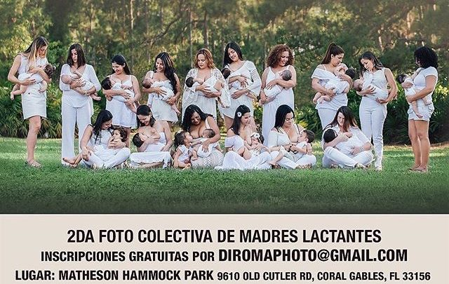 Lactating Moms Group Photo