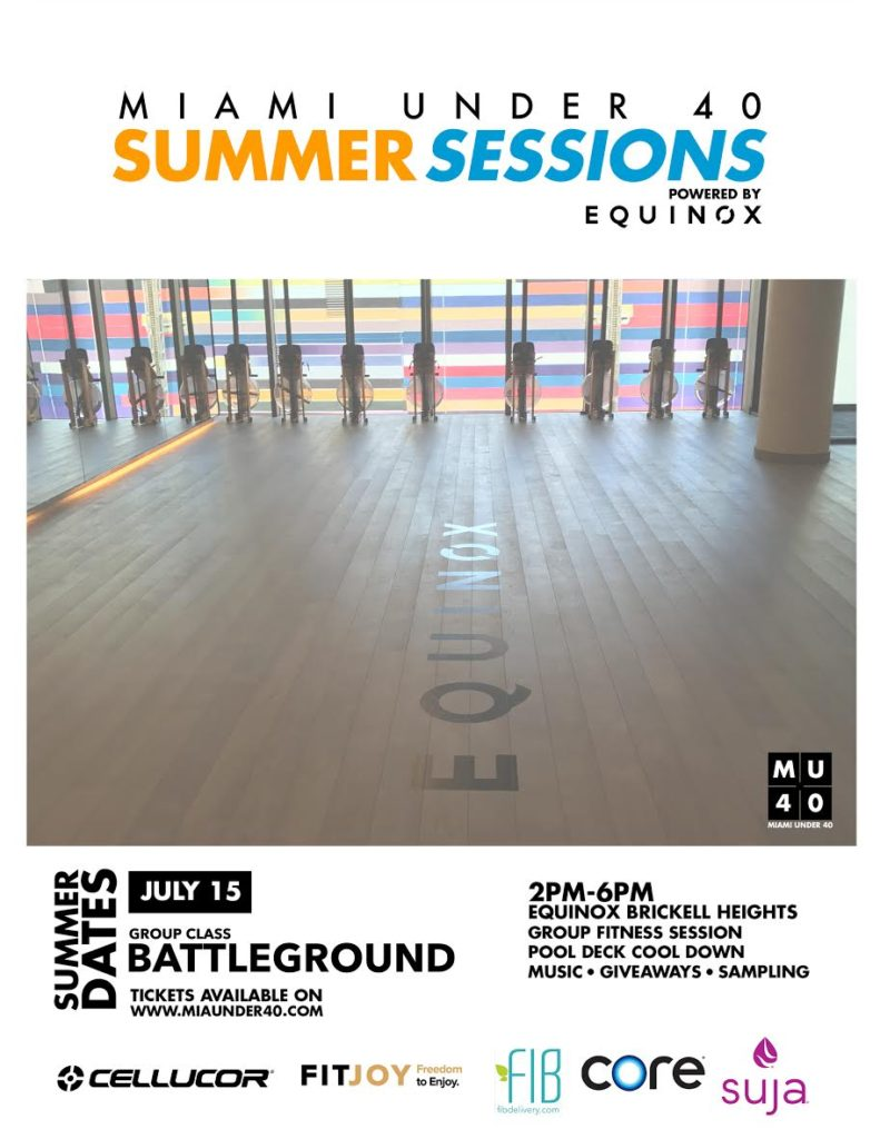 Summer Sessions Equinox Brickell
