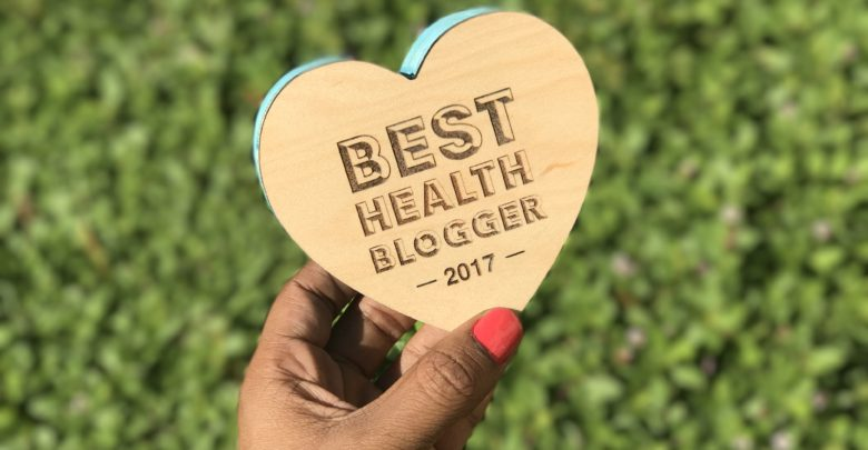 Best Health Blogger